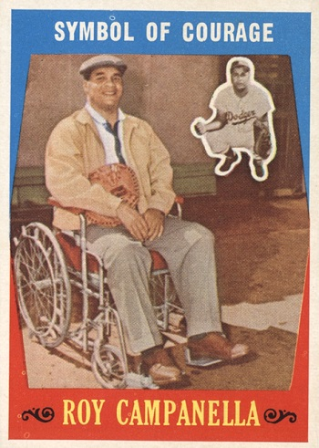 1959 Topps Roy Campanella Symbol of Courage