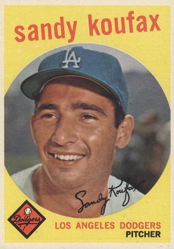 1959 Topps Sandy Koufax