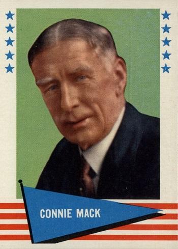 1961 Fleer Connie Mack