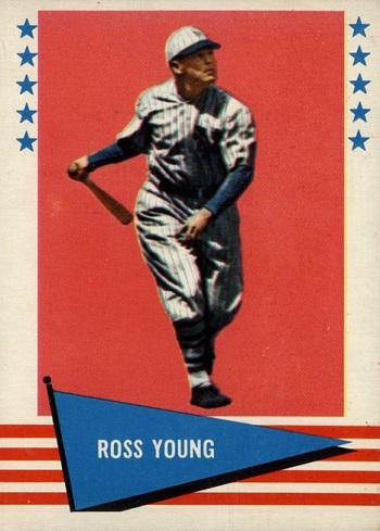 1961 Fleer Ross Youngs