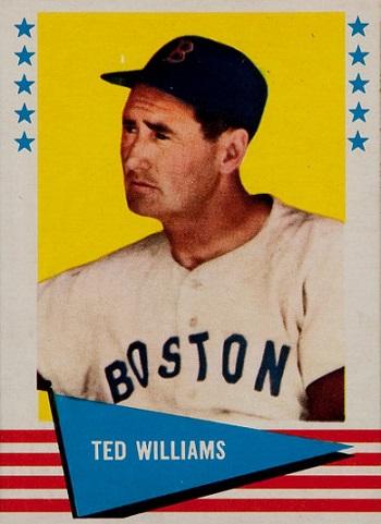 1961 Fleer Ted  Williams