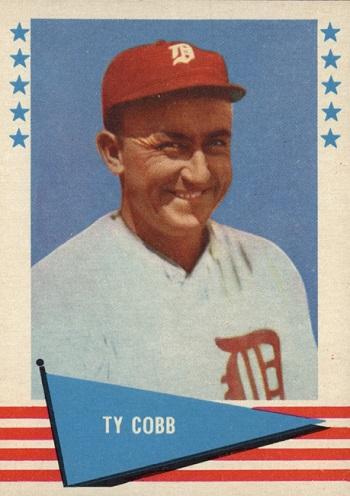 1961 Fleer Ty Cobb