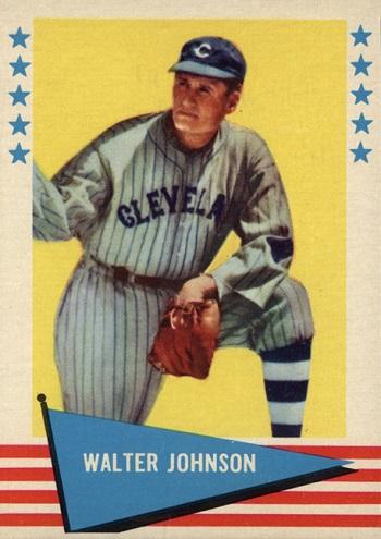 1961 Fleer Walter Johnson