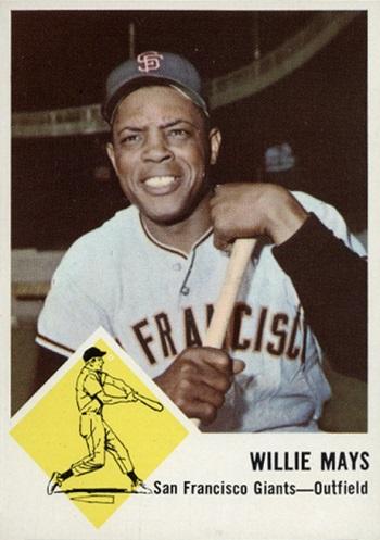 1963 Fleer Willie Mays