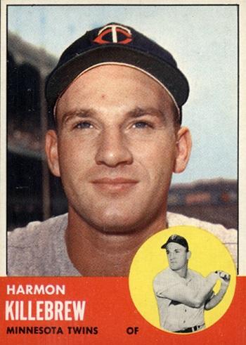 1963 Topps Harmon Killebrew