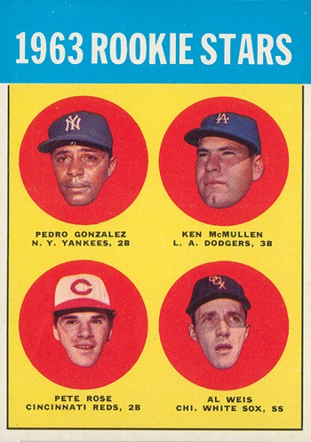 1963 Topps Pete Rose Rookie Card
