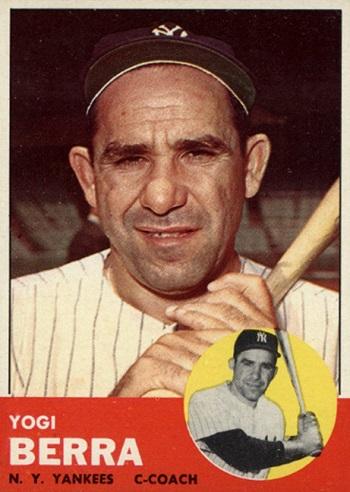 1963 Topps Yogi Berra