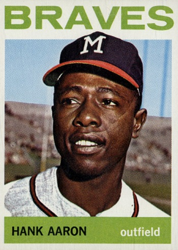 1964 Topps Hank Aaron