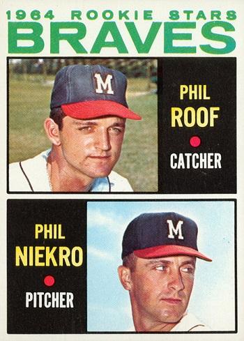 1964 Topps Phil Niekro