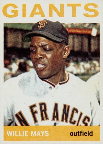 1964 Topps Willie Mays (#150)