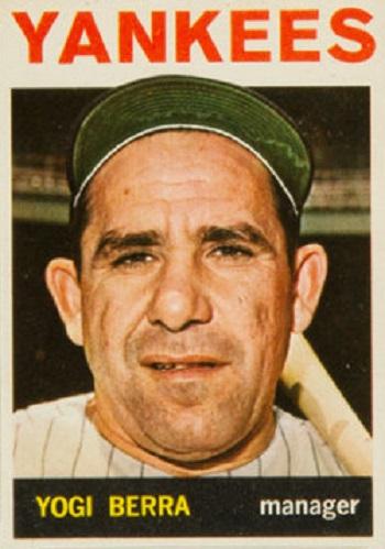 1964 Topps Yogi Berra