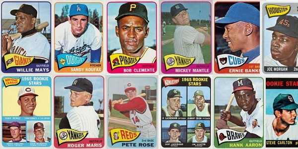 1965 Topps Baseball Cards 12 Most Valuable Wax Pack Gods