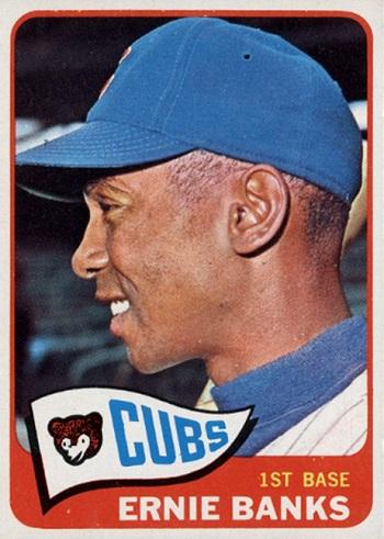 1965 Topps Ernie Banks