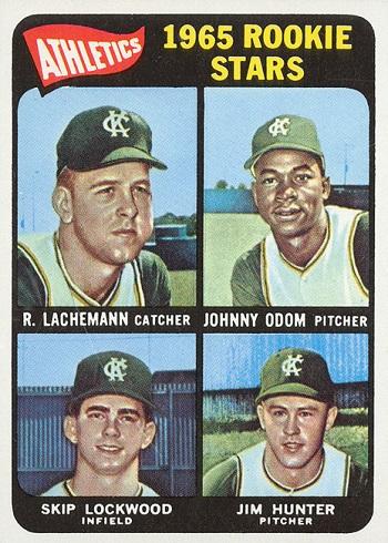 1965 Topps Jim Hunter Rookie Card