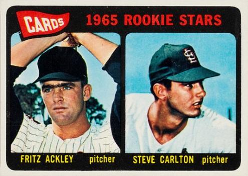 1965 Topps Steve Carlton Rookie Card