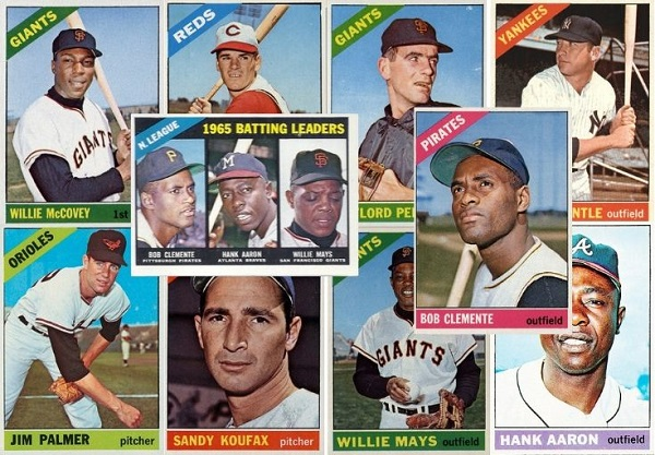 1966 Topps Baseball Cards 10 Most Valuable Wax Pack Gods