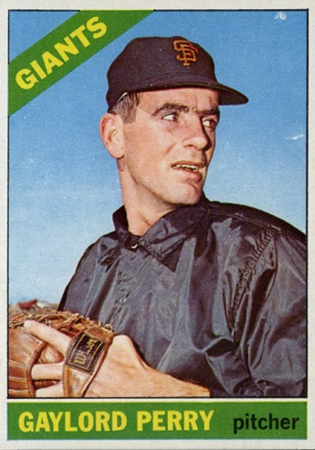 1966 Topps Gaylord Perry