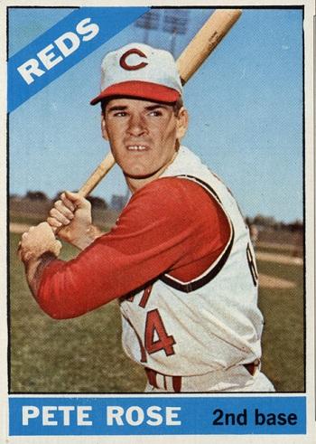 1966 Topps Pete Rose