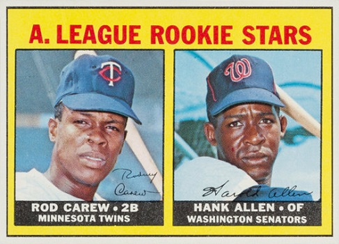 1967 Topps Rod Carew