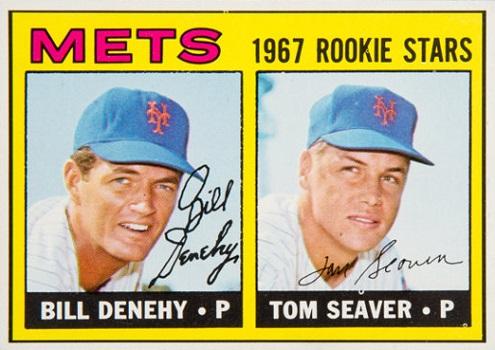 1967 Topps Tom Seaver