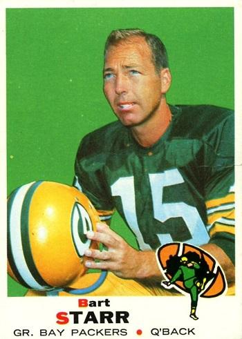 1969 Topps Bart Starr