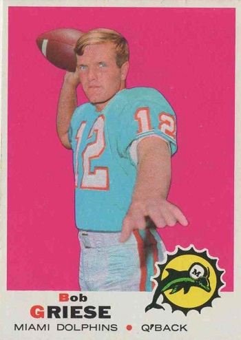 1969 Topps Bob Griese