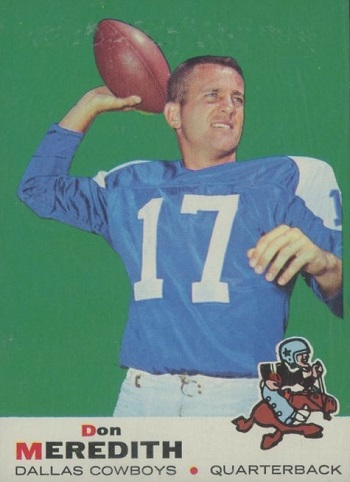 1969 Topps Don Meredith