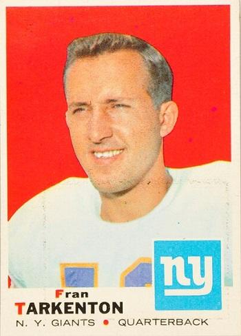 1969 Topps Fran Tarkenton