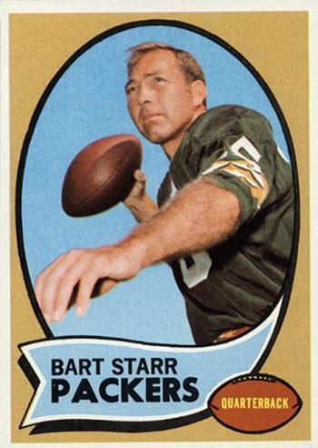 1970 Topps Bart  Starr