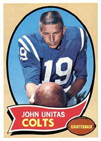 1970 Topps Johnny  Unitas