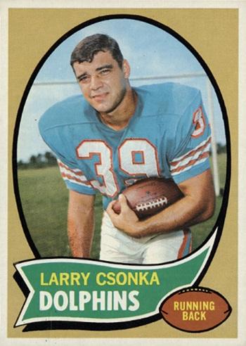 1970 Topps Larry Csonka