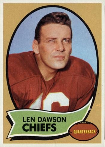 1970 Topps Len Dawson