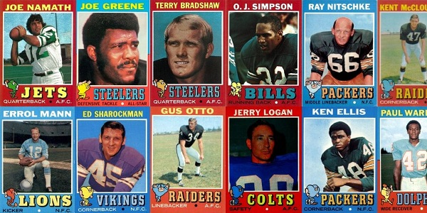 1971 Topps Football Cards – 12 Most Valuable