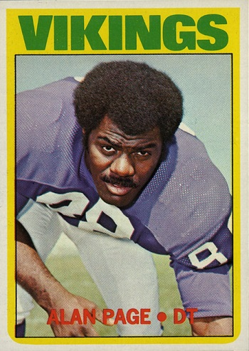 1972 Topps Alan Page