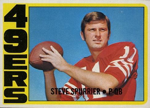 1972 Topps Steve Spurrier
