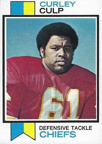 1973 Topps Curley  Culp