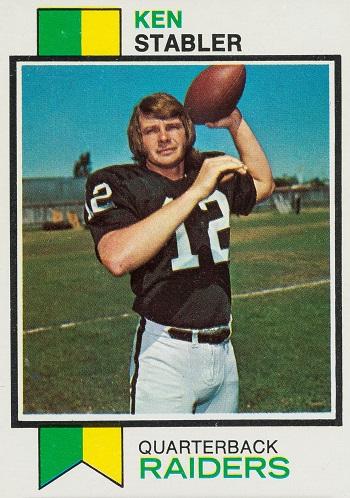 1973 Topps Ken  Stabler