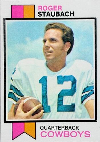 1973 Topps Roger  Staubach