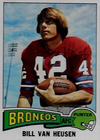 1975 Topps Bill Van Heusen