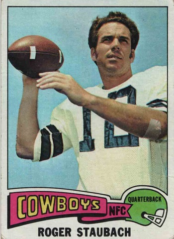 1975 Topps Roger Staubach