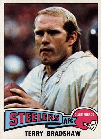 1975 Topps Terry Bradshaw