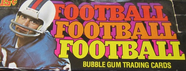 1976 topps football cards unopened wax packs box