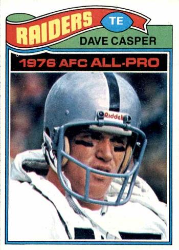 1977 Topps Dave Casper