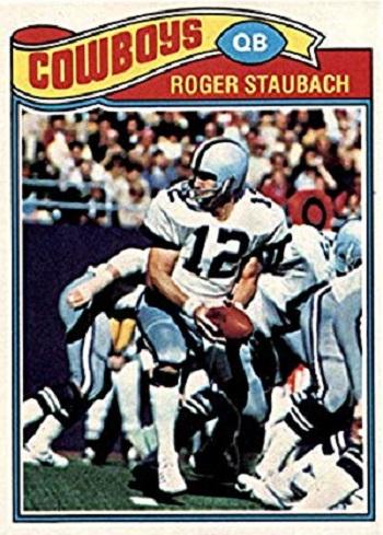 1977 Topps Roger Staubach
