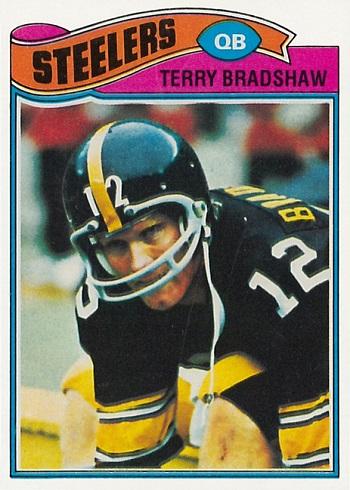 1977 Topps Terry Bradshaw