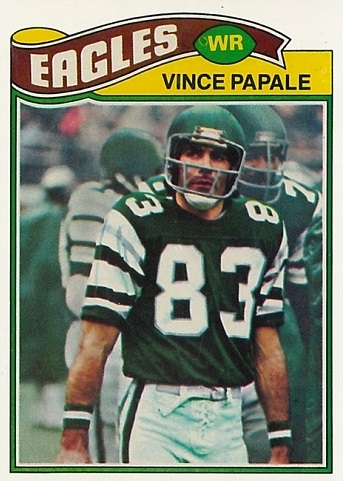 1977 Topps Vince Papale