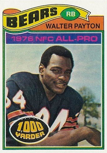 1977 Topps Walter Payton