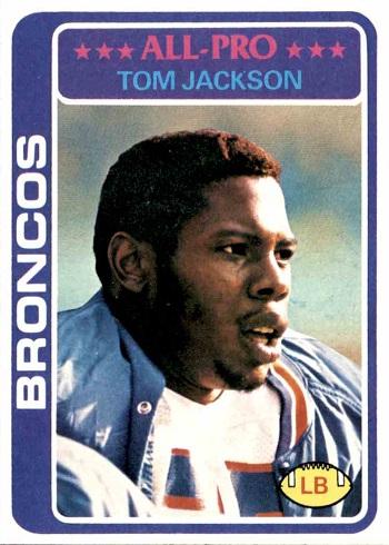 1978 Topps Tom Jackson