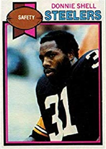 1979 Topps Donnie Shell