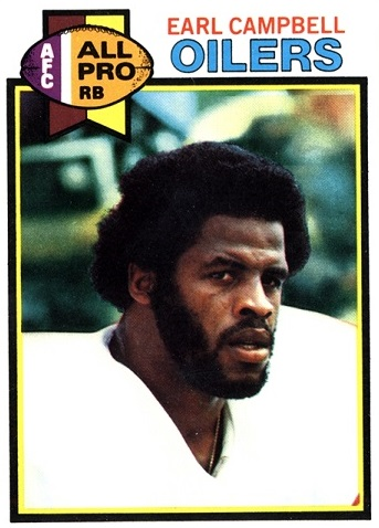 1979 Topps Earl Campbell